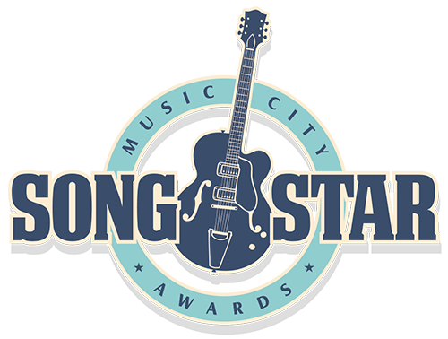 Music City SongStar guitar logo round
