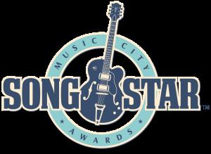 Music City SongStar LOGO Guitar in Center